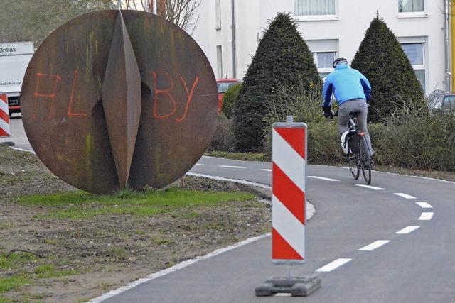 Hindernisse statt flüssigen Radelns