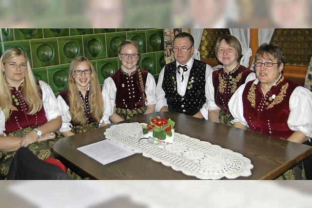 Freude an der Pflege der Tradition