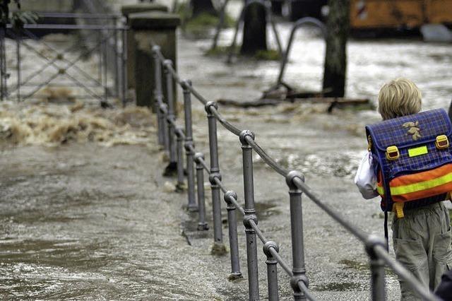 Krisenmanagement bei Hochwasser soll besser werden