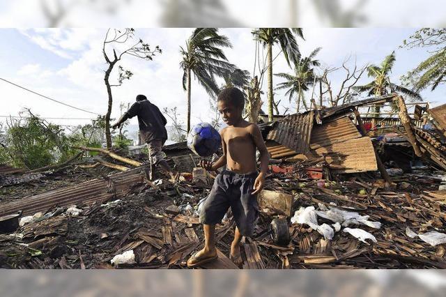 Ein Vorbote für weitere Zyklone?