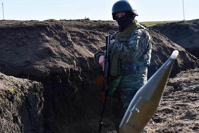 Von Frieden spricht in der Ostukraine niemand