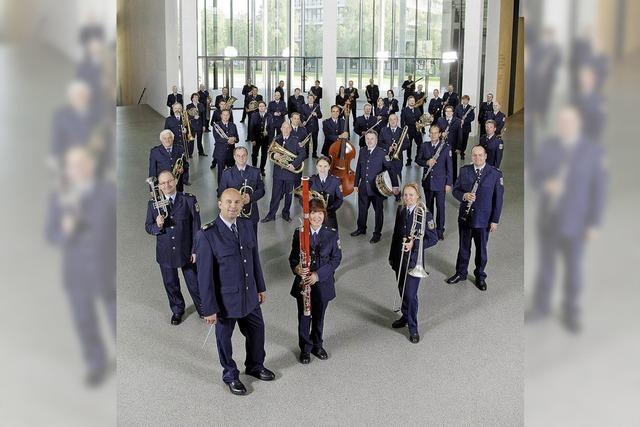 Bundespolizeiorchester München im Kurhaus in Bad Krozingen