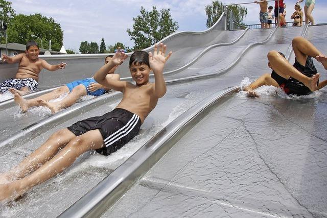 Startschuss für Bau des neuen Freizeitbades