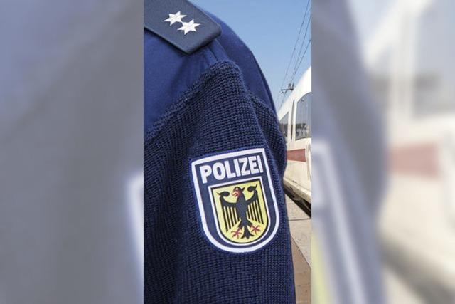Bundespolizisten demonstrieren