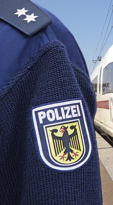 Angehörige der Bundespolizei gehen an diesem Mittwoch auf die Straße.   | Foto: bundespolizei