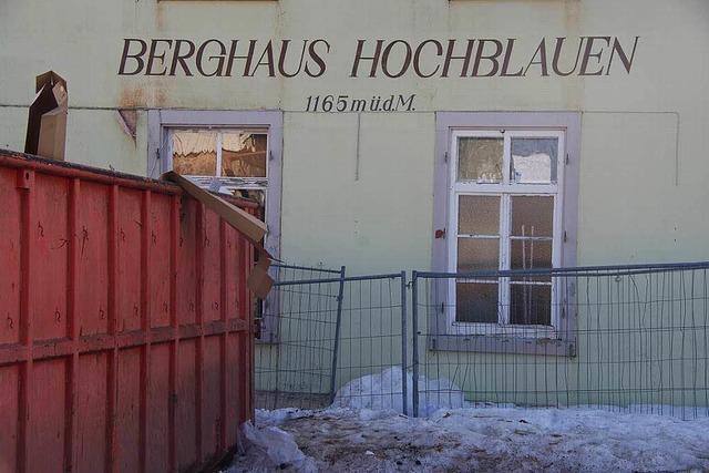 Ins Berghaus Hochblauen zieht Leben ein – Investor gefunden
