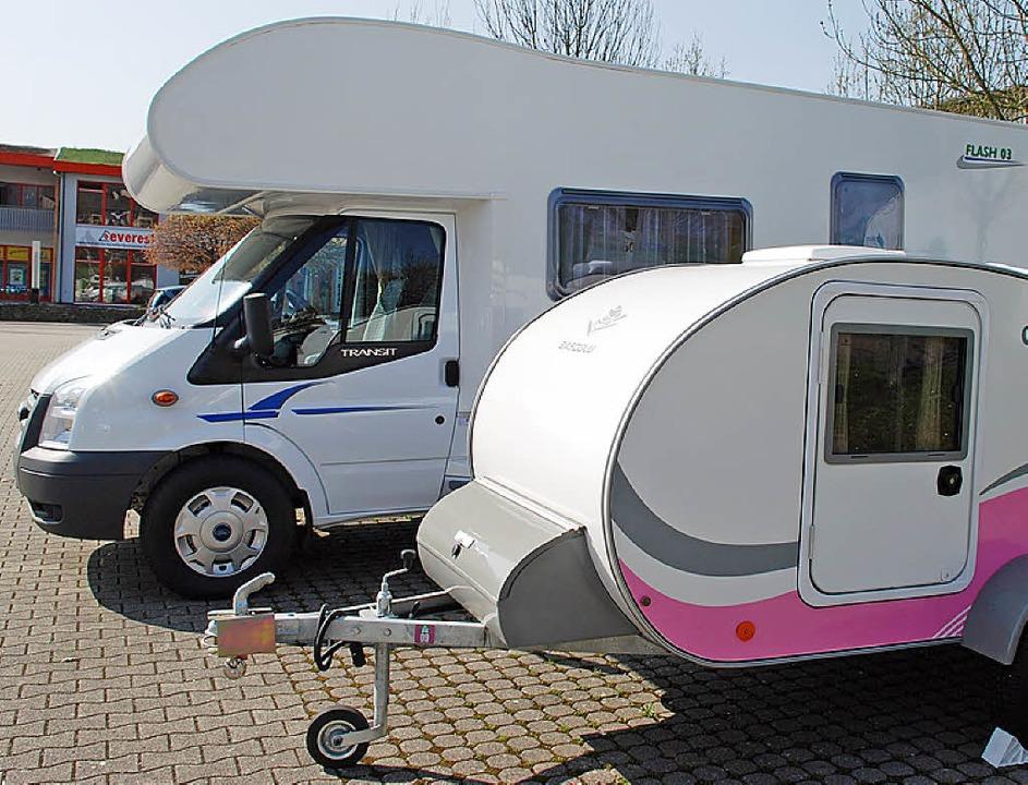 Dem  Unternehmen ML Reisemobil GmbH wird es in Rheinfelden  zu eng.  | Foto: Maja Tolsdorf