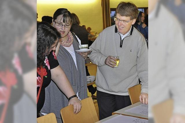 Wahlabende mit Sekt und Selters