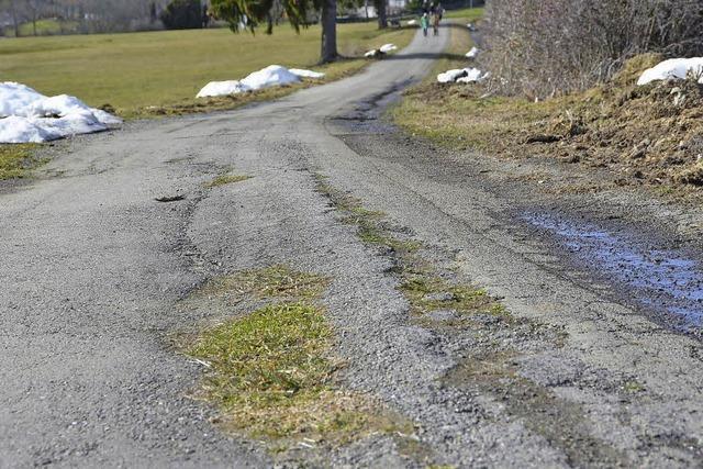 Stadt investiert in die Sanierung der Feldwege