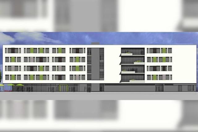 Neu auf dem Güterbahnhofgelände: Ein Pflegeheim und mehr