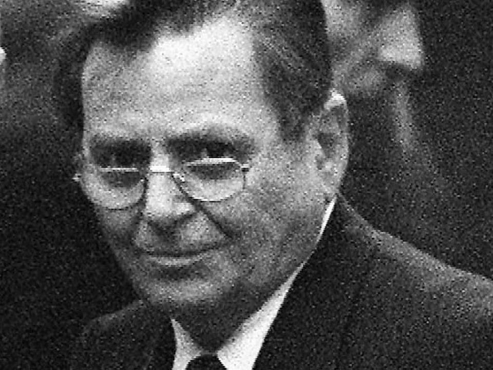 Armin Klümper schweigt zu den Vorwürfen. (Archivbild aus dem Jahr 1997)  | Foto: Rolf_Haid