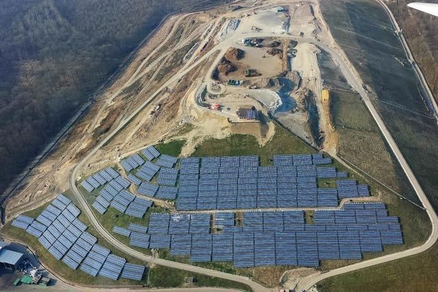 Freiburgs größte Solaranlage bleibt vorerst vom Netz