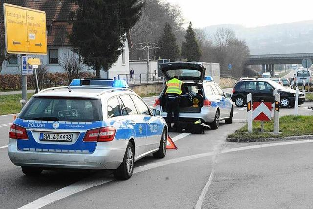 Schon wieder Unfall an der Autobahnauffahrt