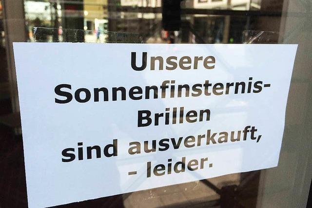 Keine Sofi-Brillen in Emmendingen
