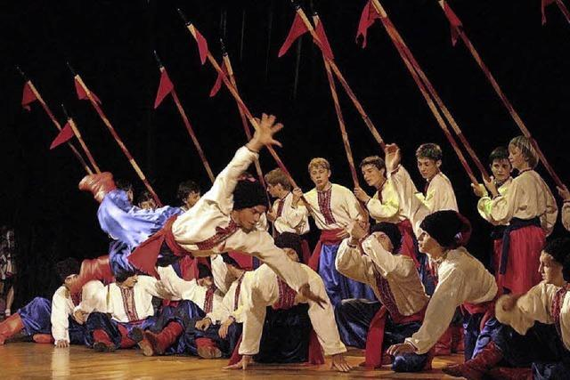 Jugend-Tanzgruppe aus Kiew im Kurhaus Bad Bellingen