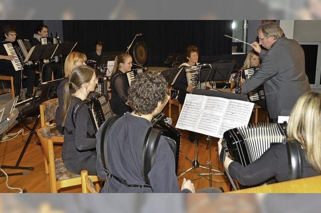 Vielfältige Akkordeonmusik