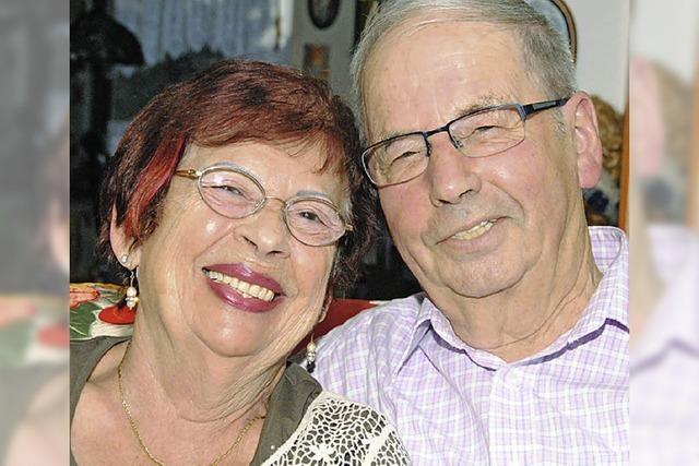 Ein rundum zufriedenes Paar
