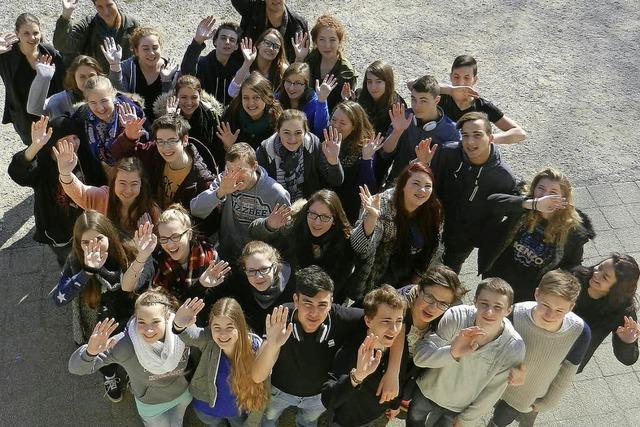 Deutsche und französische Schüler erleben Burgund