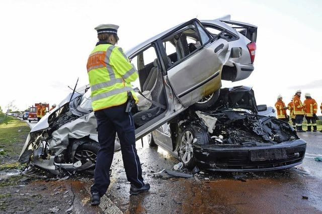 Mehr Unfälle als im Vorjahr