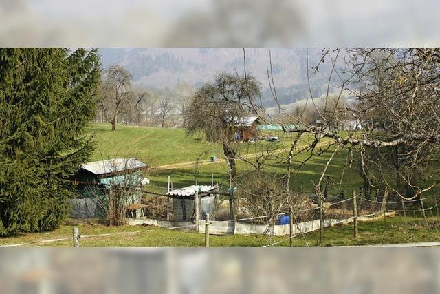Hütten unter Artenschutz