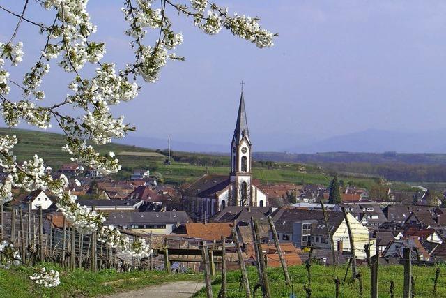 Ihringen ist ein beliebtes Urlaubsziel