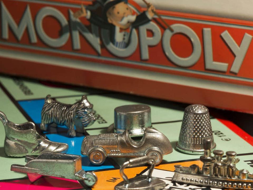 Die Spielfiguren des Monopoly-Spiels  | Foto: dpa