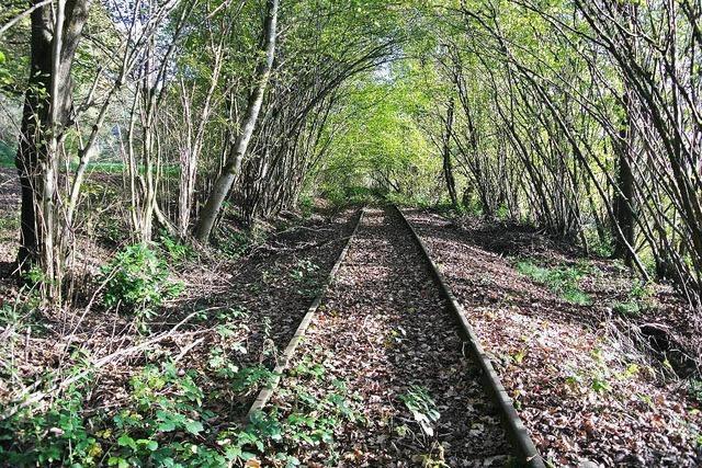 Die Gleise liegen noch