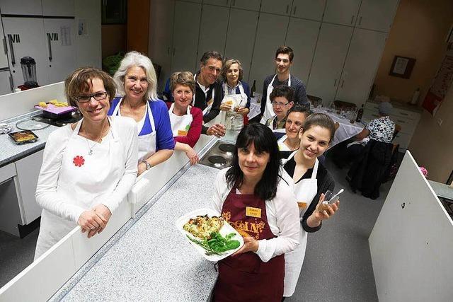 Lahrer Vegetarier kochen im Workshop vegan