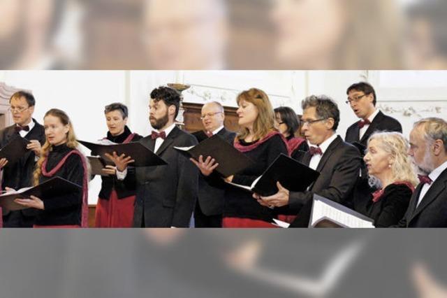 Orgel und Chor mit feinem und dichtem Klangnetz