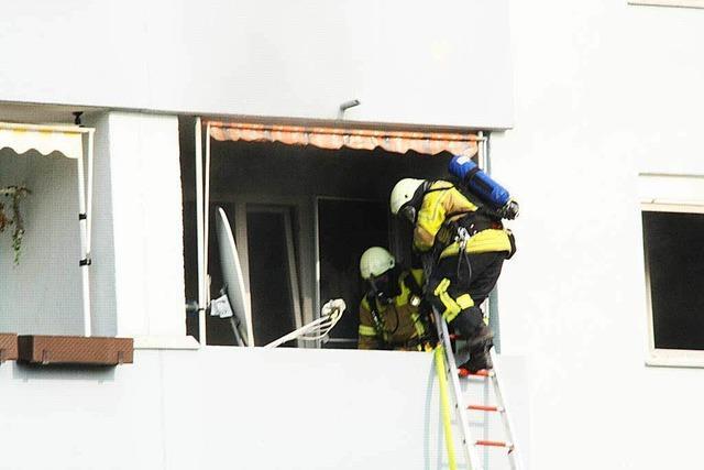 Zimmerbrand ohne Verletzte