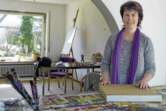 Kunst leben in Atelierhaus