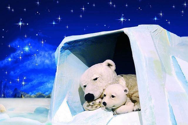 Lars, der kleine Eisbär im Vorderhaus