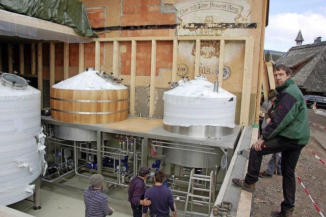Brauerei Rogg investiert in neues Sudhaus