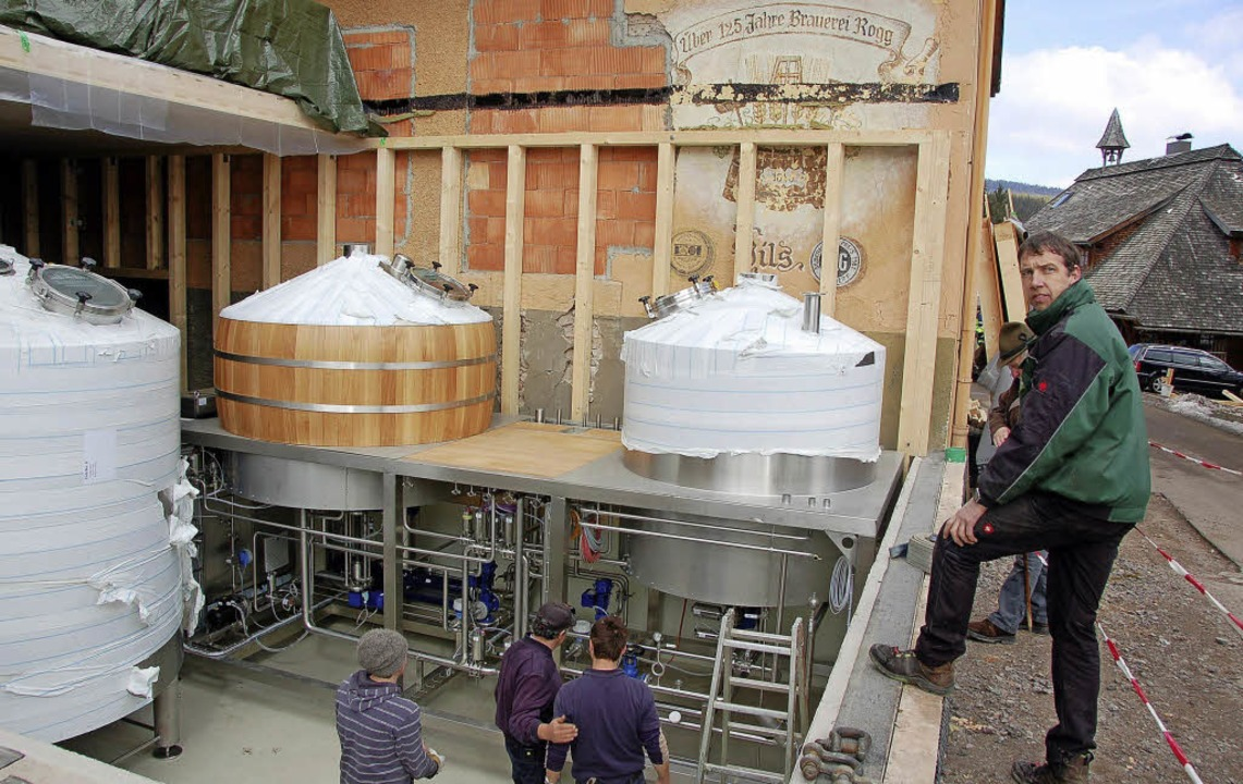 Neues Sudhaus bei der Brauerei Rogg  | Foto: Rogg