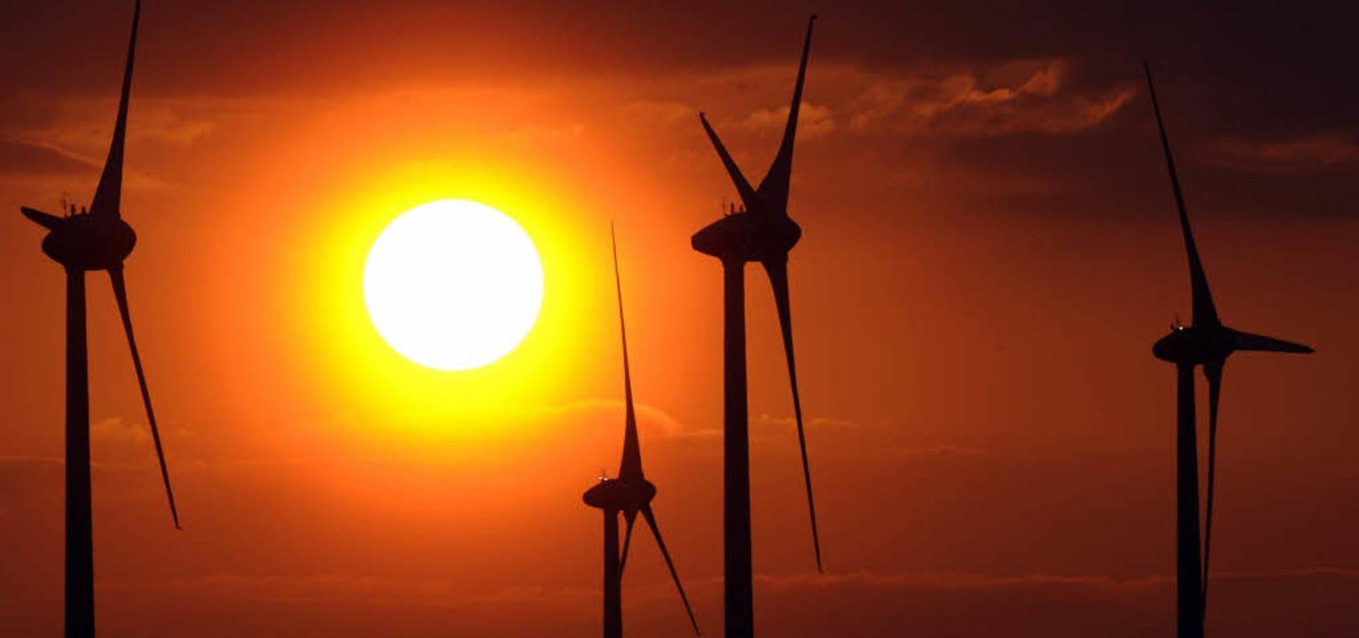 Mit Windenergie und Vorrangflächen für...nmal mehr der Ettenheimer Gemeinderat.  | Foto: DPA