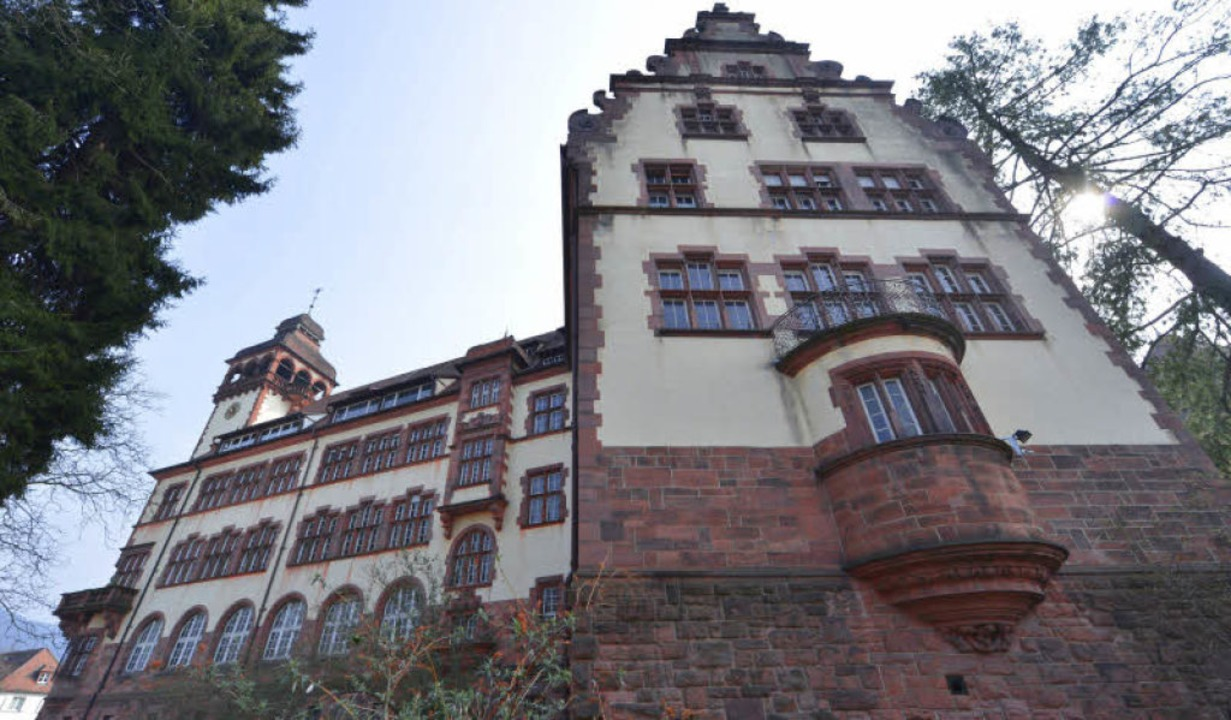Vor allem am Westflügel  des Lycée Turenne gibt es massiven Sanierungsbedarf.    Foto: Michael Bamberger