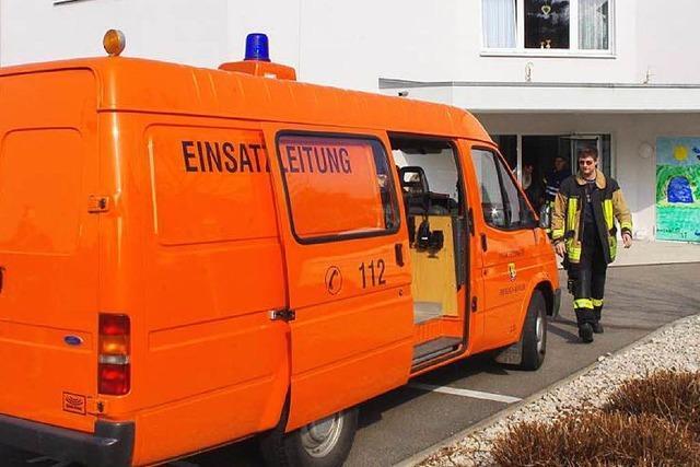 Feuerlöscher löst Großalarm im Seniorenzentrum aus
