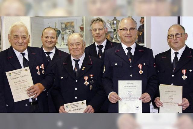 Seit 60 Jahren bei der Feuerwehr