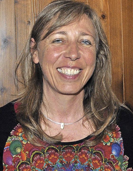 Andrea Maier ist neue Kassiererin beim Sportverein,  Rickenbachs größtem Verein.    Foto: kirsten lux
