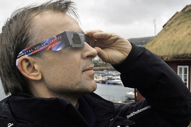 Sonnenfinsternisbrillen sind Mangelware