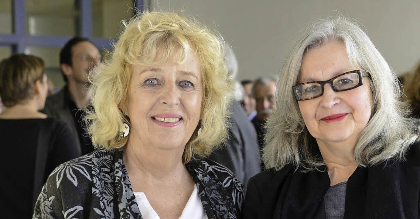Elfie Eitenbenz und Cornelia Helfferich (rechts)   | Foto: Ingo Schneider