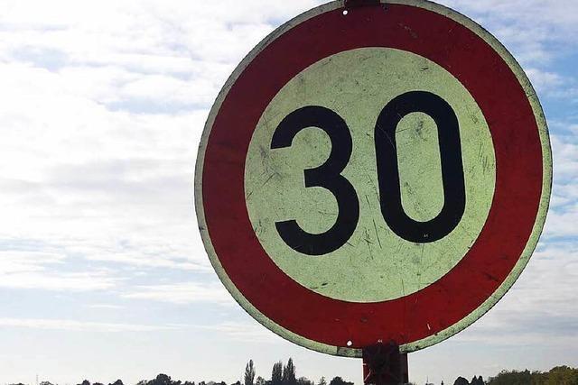 Tempo 30 in ganz Freiburg? Gutachter sind am Werk