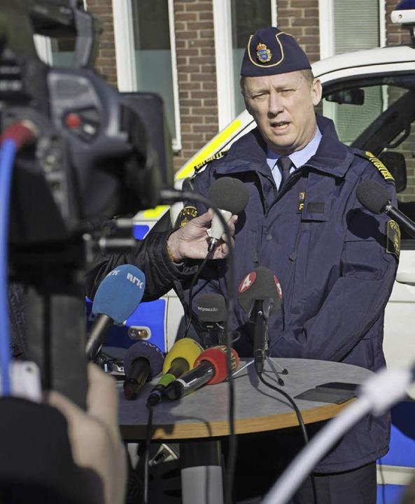 Polizeichef Klas Friberg    Foto: AFP