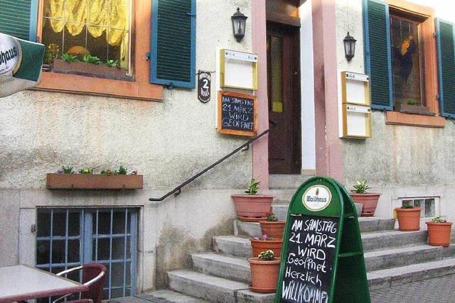 Gasthaus am Marktplatz in Kandern öffnet wieder