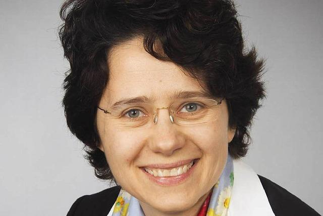 Auch Marion Gentges will Helmut Rau im Wahlbezirk Lahr beerben