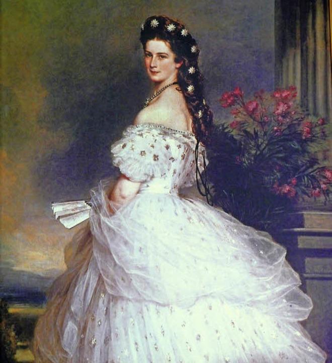 Ein Bild von einer Kaiserin: Franz Xav...em berühmten Sternenschmuck im Haar.    | Foto: Barbara RiESS
