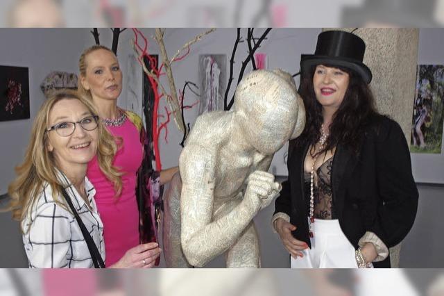 Drei Frauen und ihre Kunst