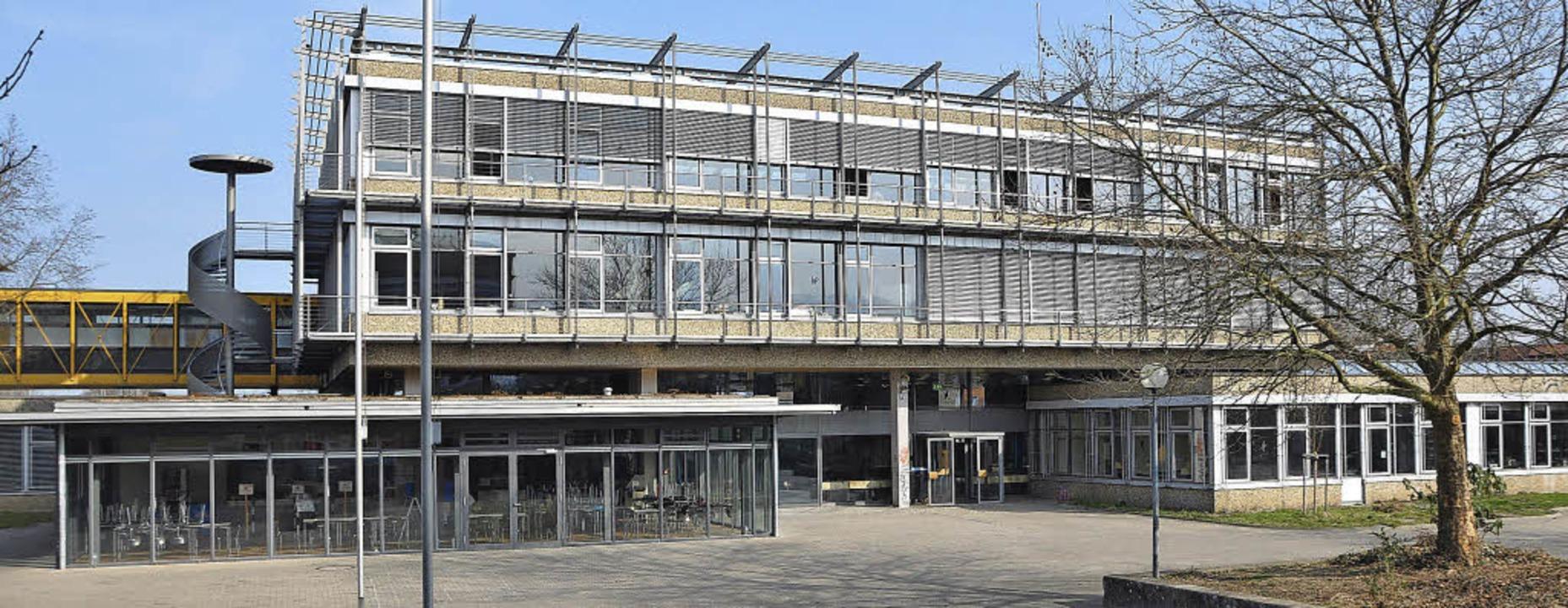 Auch am Staufener Faust-Gymnasium kämp...gaben der Landes- und Bundesregierung.  | Foto: Rainer Ruther