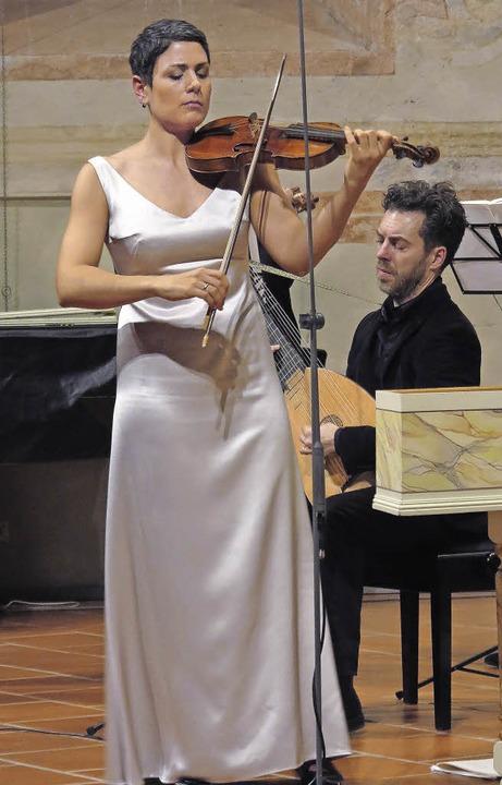 Das Basler Barockorchester La Cetra mi...ayegh in der Müllheimer Martinskirche.  | Foto: Dorothee Philipp