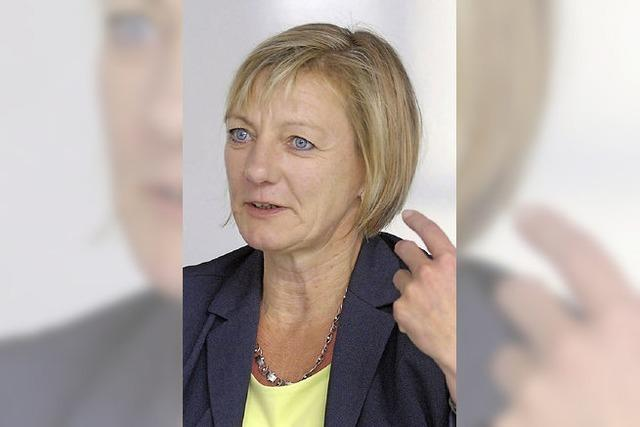 Edith Sitzmann will das Direktmandat in Freiburg-West holen